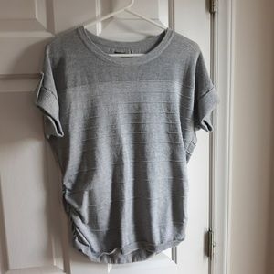 Apt 9 gray short sleeve sweater
